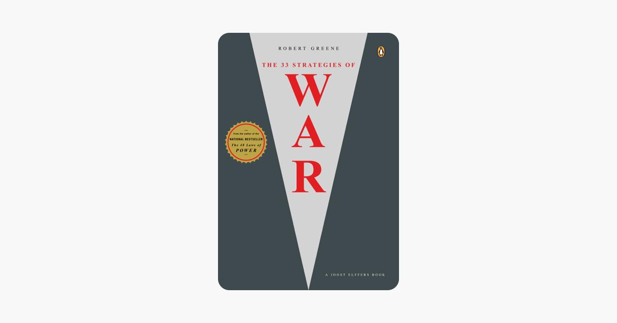 The 33 Strategies of War - Robert Greene & Joost Elffers