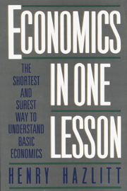 Economics in One Lesson book