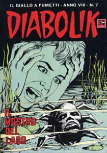 DIABOLIK (135) Libro Cover