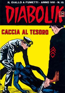 DIABOLIK (144) Copertina del libro