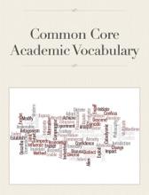 Common Core Academic Vocabulary
