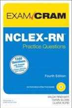 NCLEX-RN Practice Questions Exam Cram, 4/e