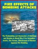 Fire Effects of Bombing Attacks: The Firebombing and Destruction of Hamburg and Dresden in World War II by Incendiary Attack, Fire Storms, Effectiveness of Barriers, Japanese Fire Bombing