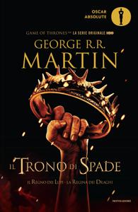 Il trono di spade 2. Il regno dei lupi, La regina dei draghi. Libro Cover