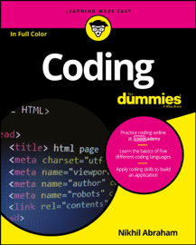 Coding for Dummies book