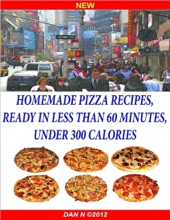 Homemade Pizza Recipes, Ready In Less Than 60 Minutes, Under 300 Calories