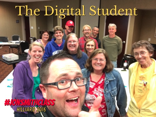 Jonathan Smith, Amy Shenefield, Cathy Henry, Michele Campbell, Jeff Pearl, Mark Rice, Patty Harris, Rachel Meyer, David Harchar, Sue Phillis, Joe Jude & Melissa Fettrow - The Digital Student