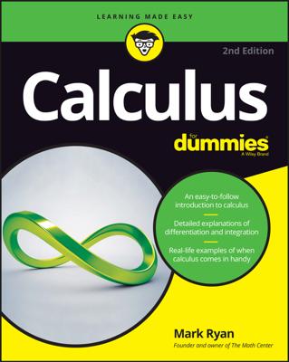 Calculus For Dummies - Mark Ryan book