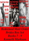 Mail Order Bride Redeemed Mail Order Brides Box Set - Books 7-9