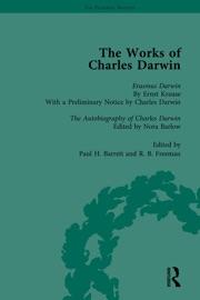 THE WORKS OF CHARLES DARWIN: VOL 29: ERASMUS DARWIN (1879) / THE AUTOBIOGRAPHY OF CHARLES DARWIN (1958)