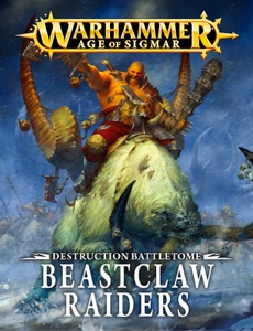 Destruction Battletome: Beastclaw Raiders da Games Workshop