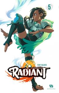 Radiant - Tome 5 La couverture du livre martien