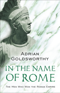In the Name of Rome Cover Book