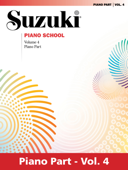Suzuki Piano School - Volume 4 (New International Edition)