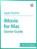 Apple Education - iMovie for Mac Starter Guide OS X El Capitan artwork