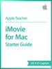 Apple Education - iMovie for Mac Starter Guide OS X El Capitan artwork