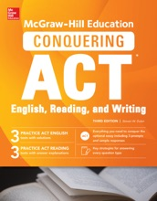 McGraw-Hill Education Conquering ACT English Reading And Writing, Third Edition