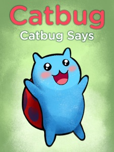 Catbug Says Book Cover