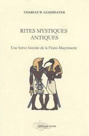 Rites mystiques antiques