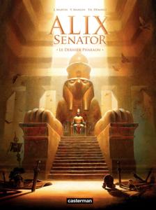 Alix Senator (Tome 2) - Le Dernier Pharaon La couverture du livre martien