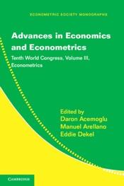 Advances in Economics and Econometrics: Volume 3, Econometrics