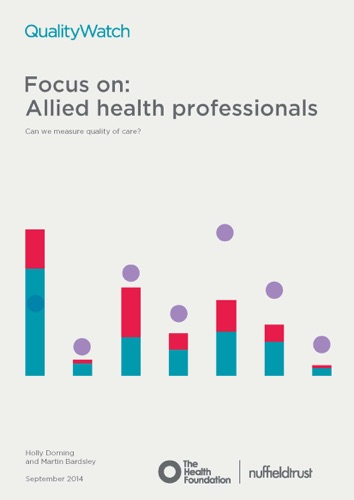 Holly Dorning & Martin Bardsley - Focus on: Allied health professionals