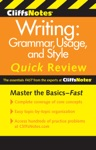 CliffsNotes Writing Grammar Usage And Style Quick Review 3rd Edition