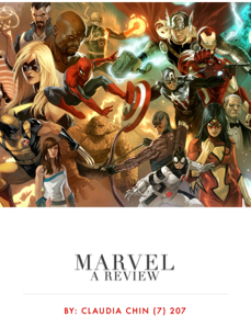 Marvel Book Review
