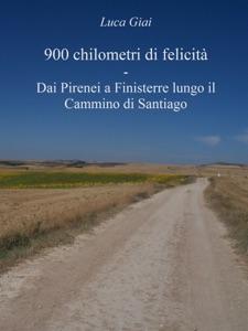 900 chilometri di felicità - dai Pirenei a Finisterre lungo il Cammino di Santiago Book Cover