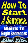 How To Start A Sentence Words To Begin Sentences