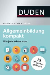 Duden - Allgemeinbildung kompakt Buch-Cover