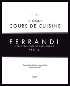 Le grand cours de cuisine FERRANDI La couverture du livre martien