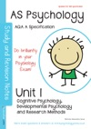 AQA A AS Psychology Unit 1 Cognitive Psychology Developmental Psychology Research Methods