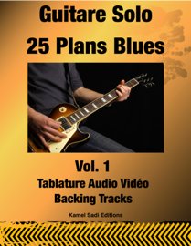 Guitare Solo 25 Plans Blues Vol. 1