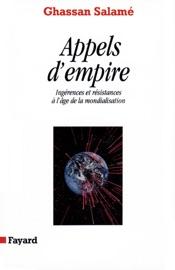 Download and Read Online Appels d'empire