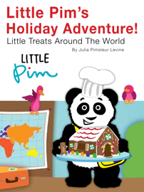 Little Pim's Holiday Adventure! Tasty Treats Around the World book