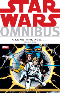 Star Wars Omnibus A Long Time Ago… Vol. 1 Copertina del libro