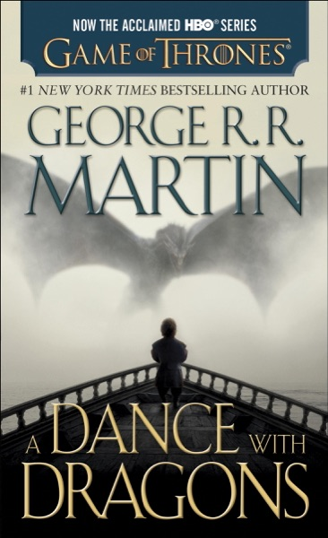 A Dance with Dragons - George R.R. Martin book cover