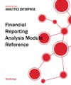 Financial Reporting Analysis Module Reference For MicroStrategy 95