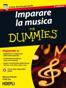Imparare la musica for Dummies Book Cover