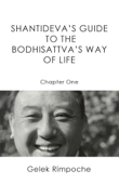 Guide to the Bodhisattva's Way of Life Chapter Two Book Cover