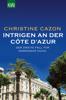 Christine Cazon - Intrigen an der Côte d´Azur Grafik
