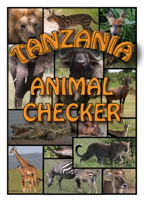 Tanzania Animal Checker - David Watson & Rosemary Watson book