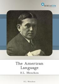 The American Language book