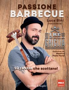 Passione barbecue Libro Cover