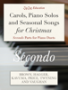 ZigZag Education - Carols, Piano Solos and Seasonal Songs for Christmas - Secondo Parts artwork