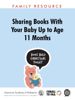 Pamela C. High, MD, FAAP & AAP Council on Early Childhood - Sharing Books with Your Baby up to Age 11 Months artwork