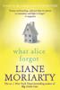 Liane Moriarty - What Alice Forgot artwork
