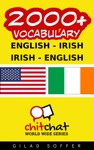 2000 English - Irish Irish - English Vocabulary