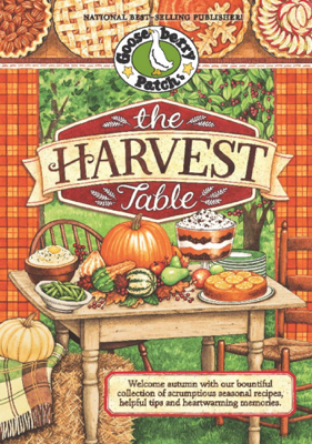 The Harvest Table - Gooseberry Patch book